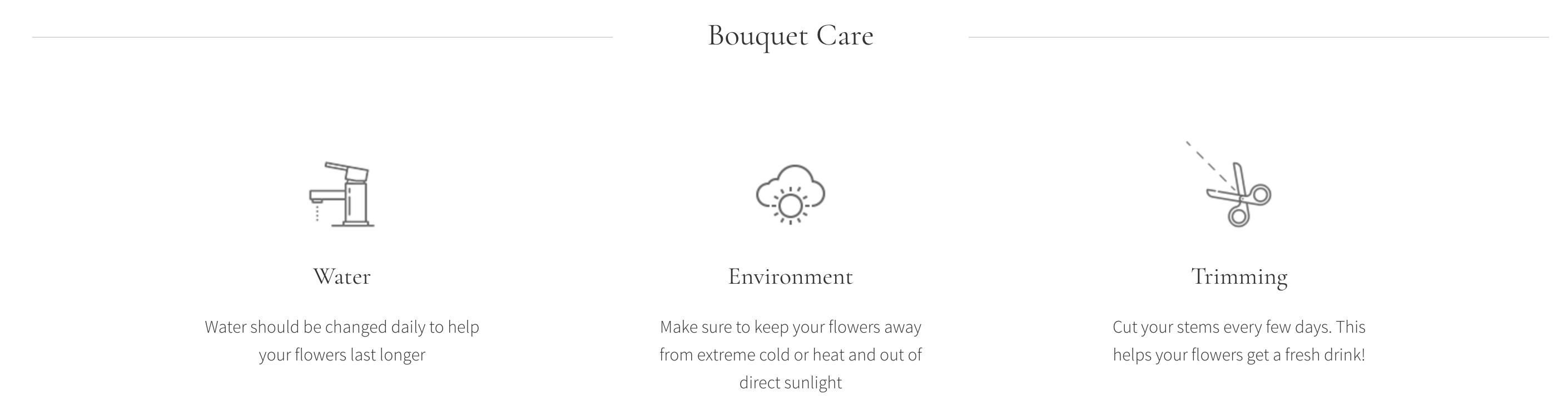 Bouquet Care, Milton Flower Delivery - Karen's Flower Shop.png