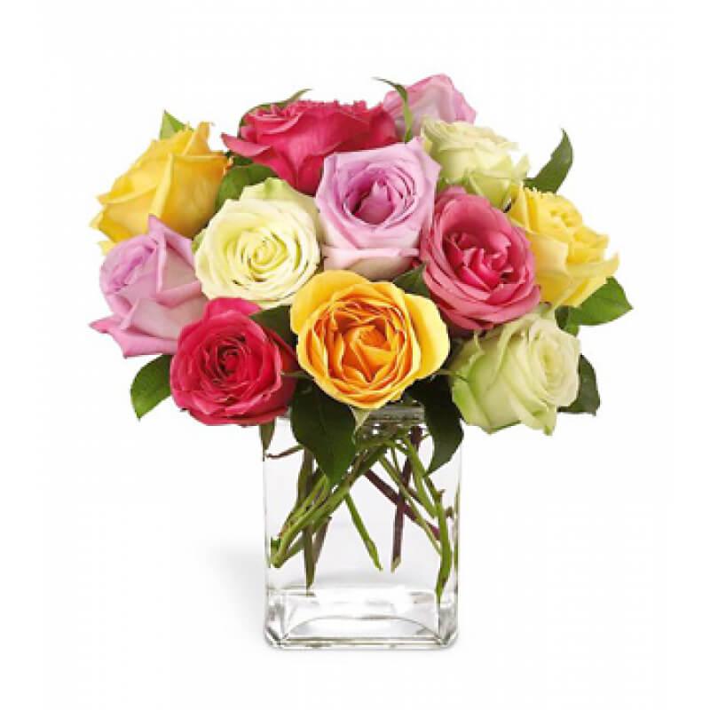 Wedding Flowers Omaha Ne: Rose Fest Bouquet :: Karen's Flower Shop