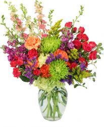 COLORFUL BLOOMS ARRANGEMENT