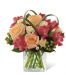 All Aglow Bouquet in Vase