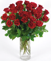 Red Long Stem Roses By Karen's Flower Shop