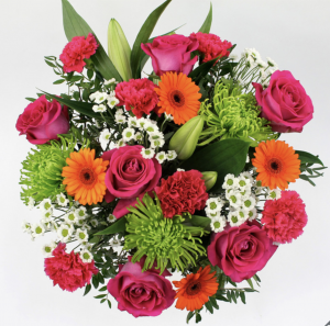 Vibrant Mixed Flower Bouquet