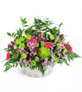 Beautiful Blooms Basket