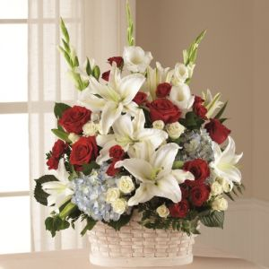 Greater Glory Sympathy Basket