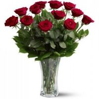 Perfect Dozen Red Roses