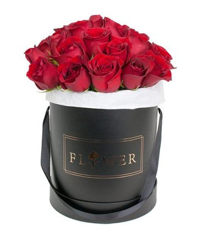 LUXURY ROSE BOX - RED