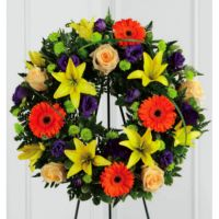 Radiance Remembrance Wreath