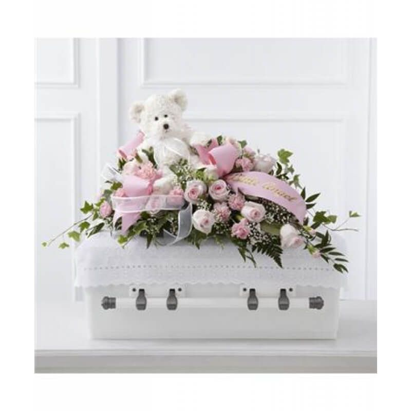 Touch of Sympathy Casket Spray
